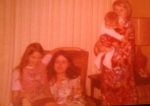 Donna, me, Carol holding my daughter, Jennifer.